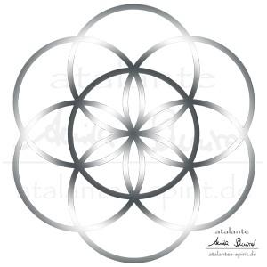 Blume des lebens lebensblume bedeutung heilige geometrie mit dem siebten kreis schliet sich die zentrale darstellung der blume des lebens altavistaventures Gallery