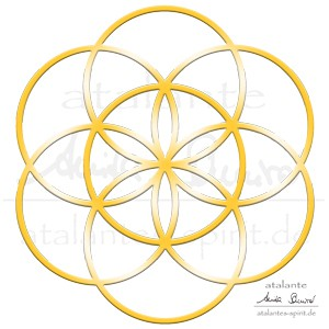 Blume des lebens lebensblume bedeutung heilige geometrie die blume des lebens selbst mit dem zirkel malen altavistaventures Gallery